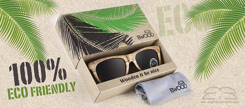 packaging gafas madera